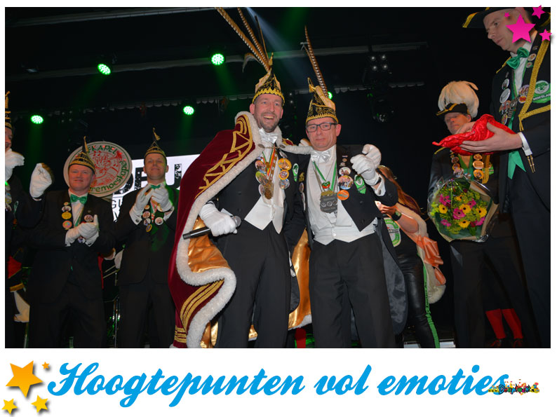 Hoogtepunten vol emoties