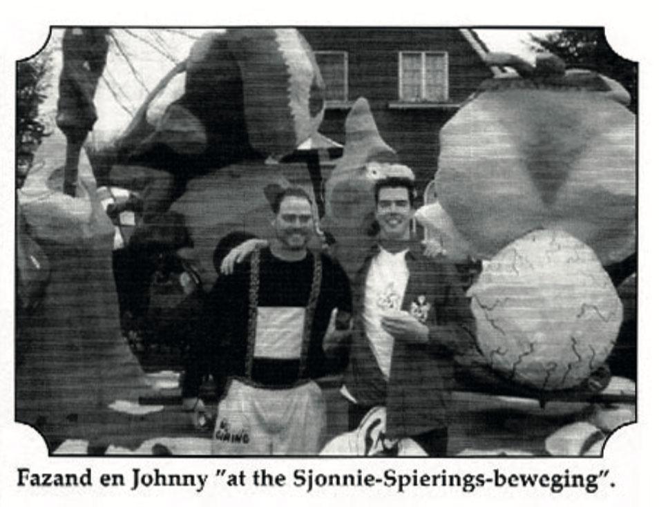 Stukje uit de carnavalskrant van Zot Gefrot - 2001