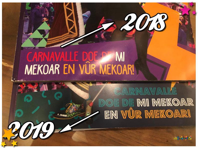 Zelfde slogan voor Prins Bart in 2018 en 2019