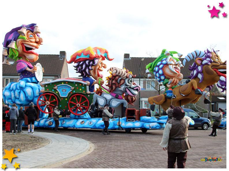 Carnavalsoptocht Schaijk - 2019 - Goei Geknoei