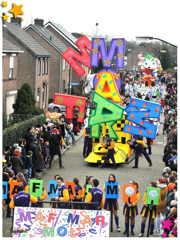 Carnavalsoptocht Schaijk - 2019 - Maf Mar Moi