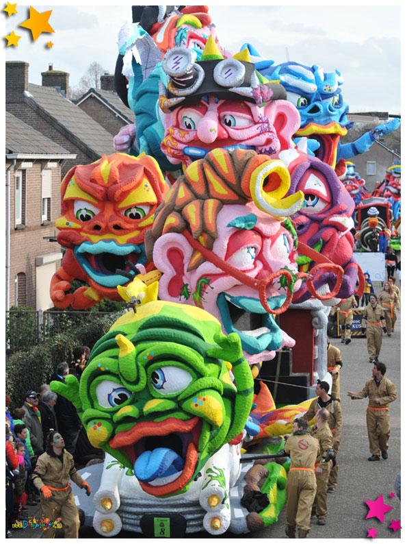 Carnavalsoptocht Schaijk - 2019 - Schon Gekwakt