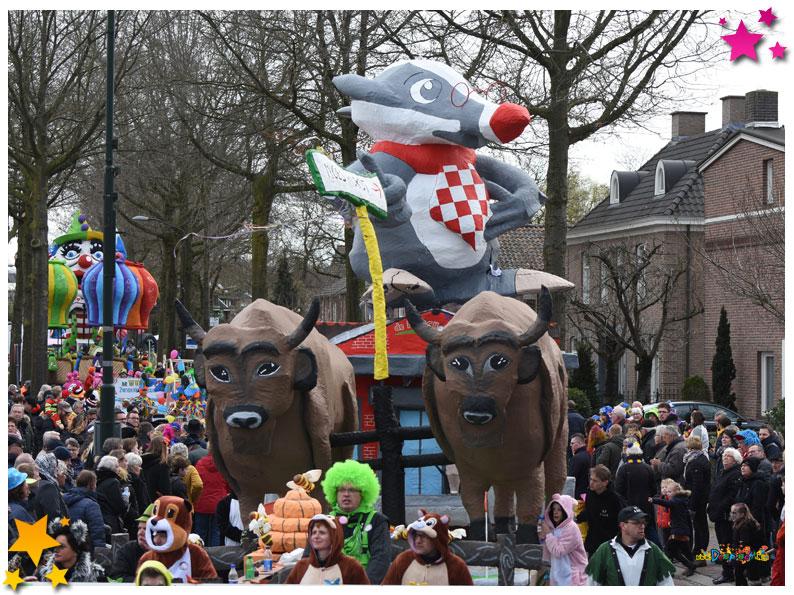 Carnavalsoptocht Schaijk - 2019 - Ut Lupt