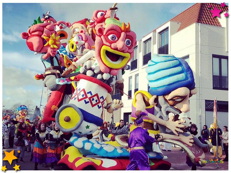 Carnavalsoptocht Schaijk - 2019 - Ut Nauwt Nie