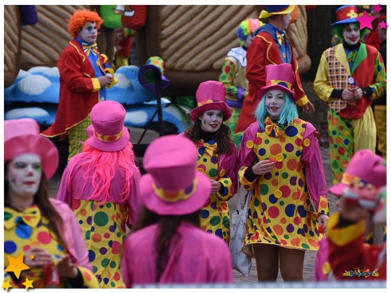 Carnavalsoptocht Schaijk - 2019 - Wulpse Hertjes
