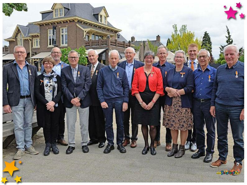 Henk van Summeren lid in de Orde van Oranje Nassau - 2019 Schaijk