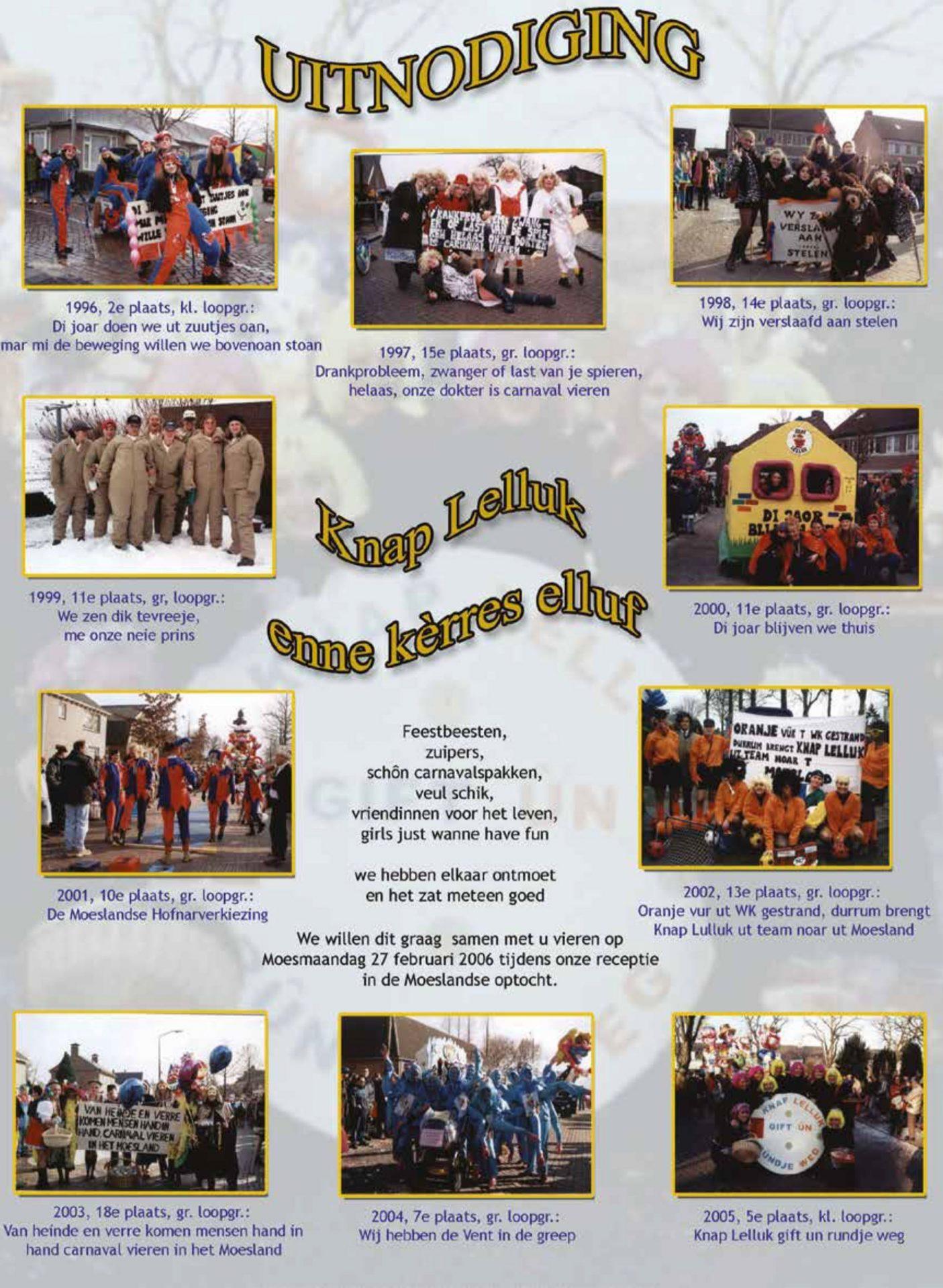 Stukje uit de carnavalskrant - 2006