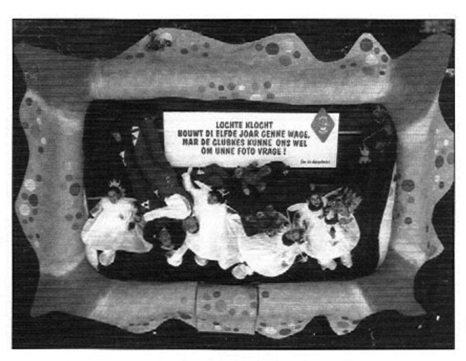 Stukje uit de carnavalskrant van Lochte Klocht - 2000