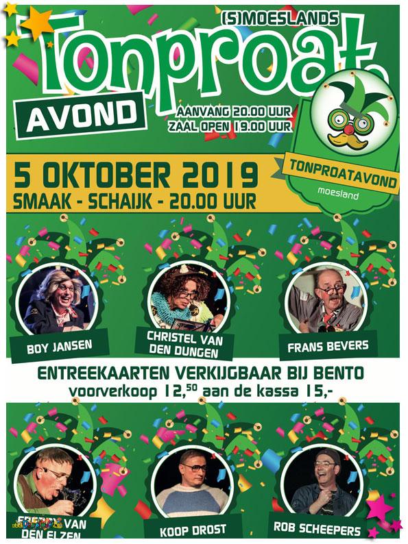 (s)Moeslands Tonproatavond 2019