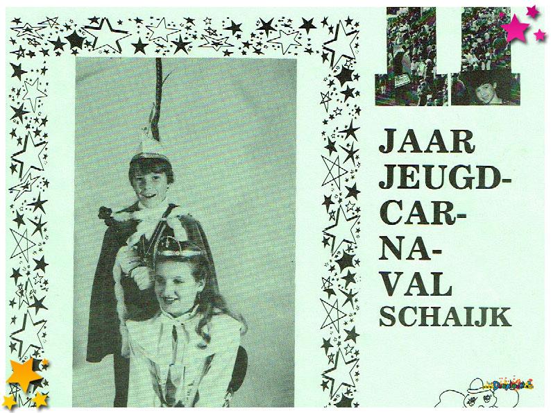 Jeugdcarnavalskrant Schaijk - 1983