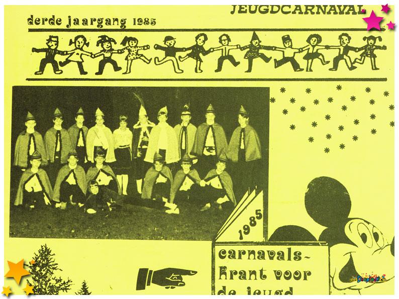 Jeugdcarnavalskrant Schaijk - 1985