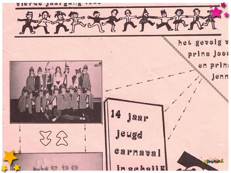 Jeugdcarnavalskrant Schaijk - 1986
