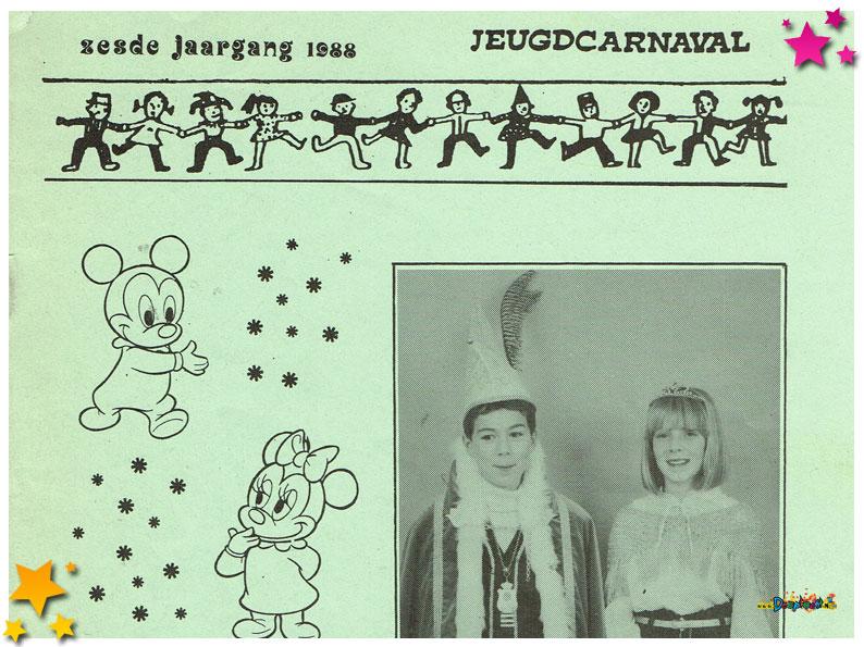 Jeugdcarnavalskrant Schaijk - 1988