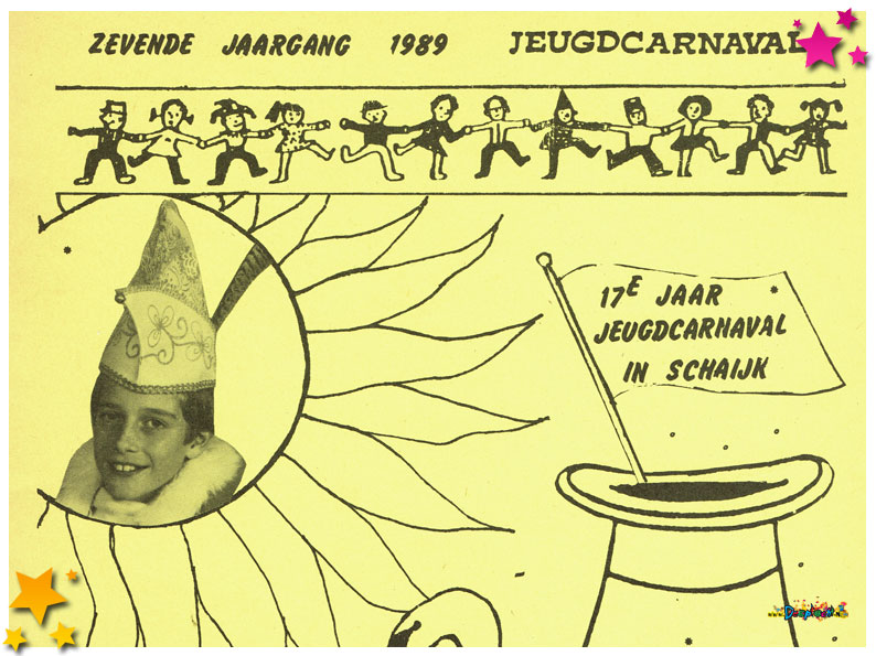 Jeugdcarnavalskrant Schaijk - 1989