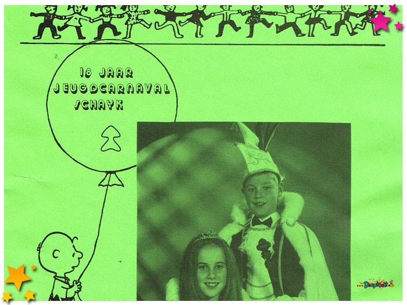 Jeugdcarnavalskrant Schaijk - 1990