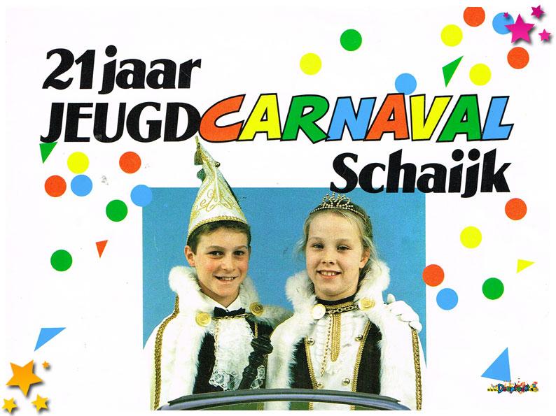 Jeugdcarnavalskrant Schaijk - 1993