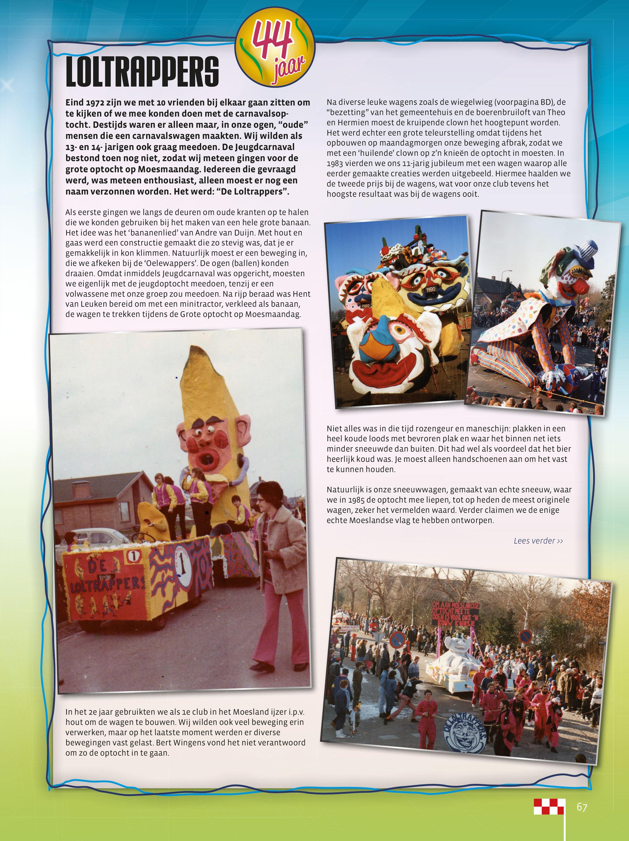 Stukje uit de carnavalskrant van de Loltrappers - 2016