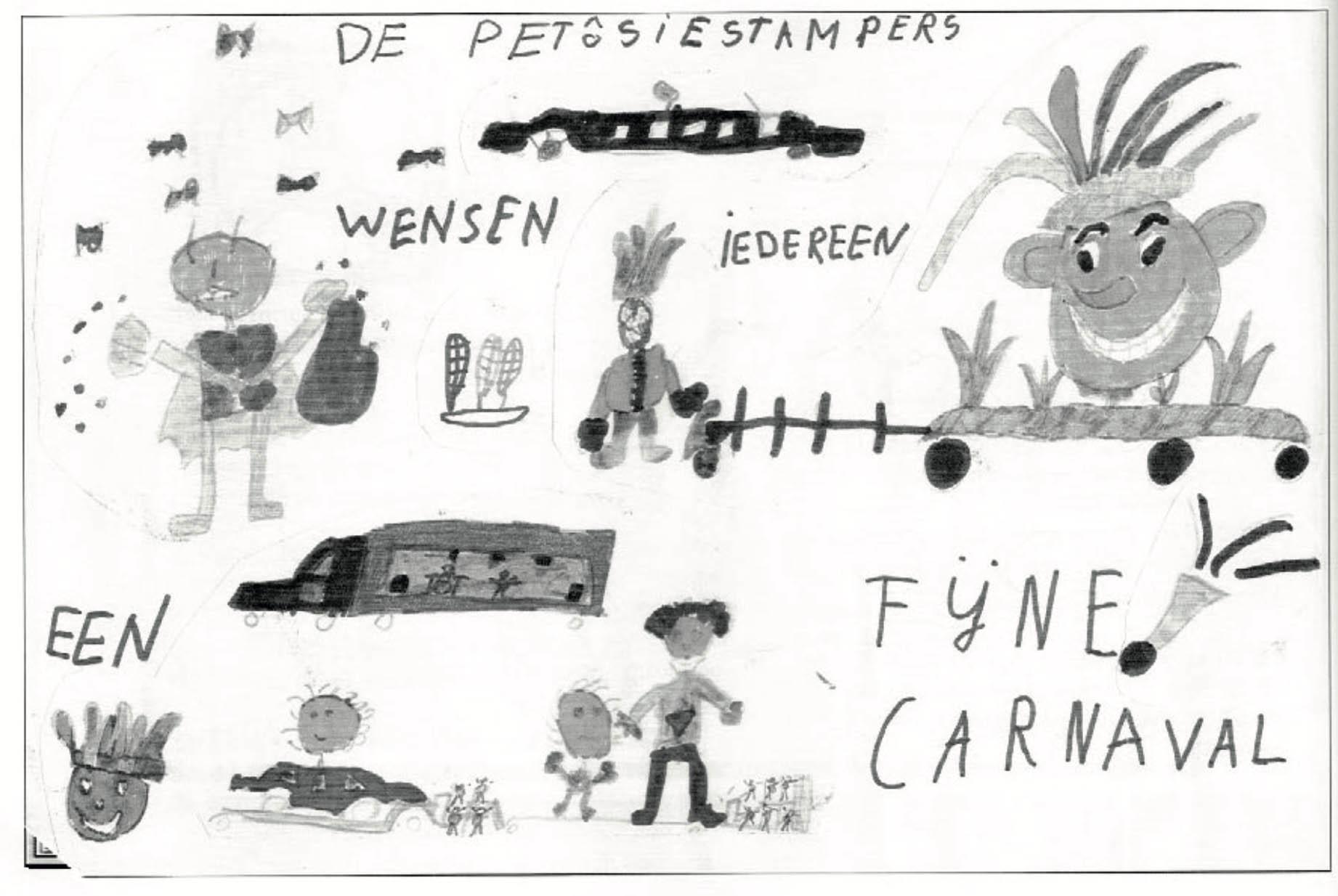 Stukje uit de carnavalskrant van de Petôsiestampers - 2001