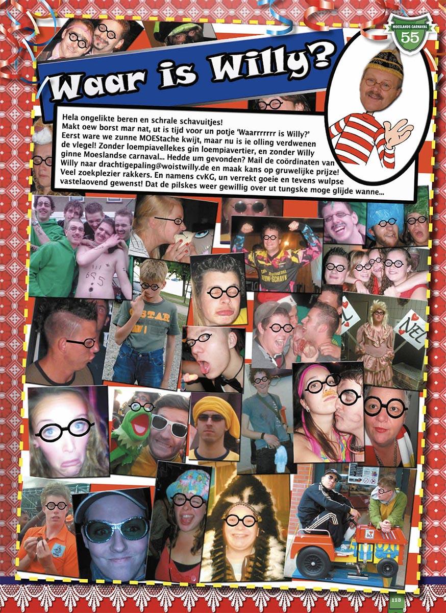 Stukje uit de carnavalskrant van De Wulpse Hertjes - 2013
