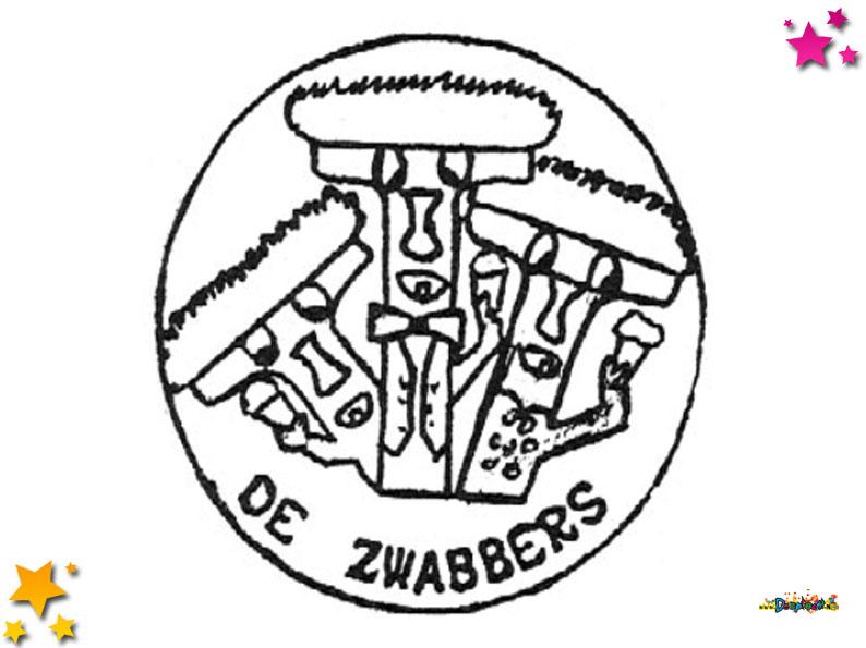 Logo van De Zwabbers