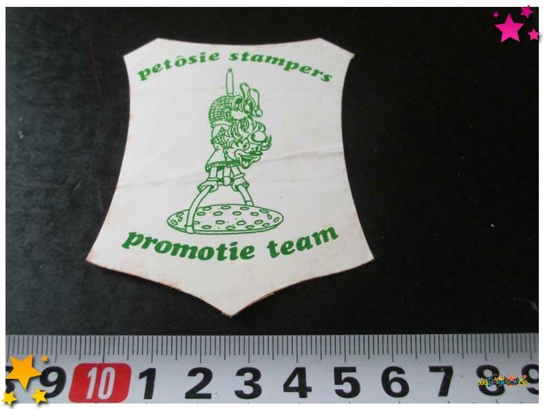 Sticker Petosiestampers Schaijk