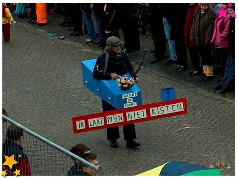 Jan Vos Carnavalsoptocht Schaijk - 2002