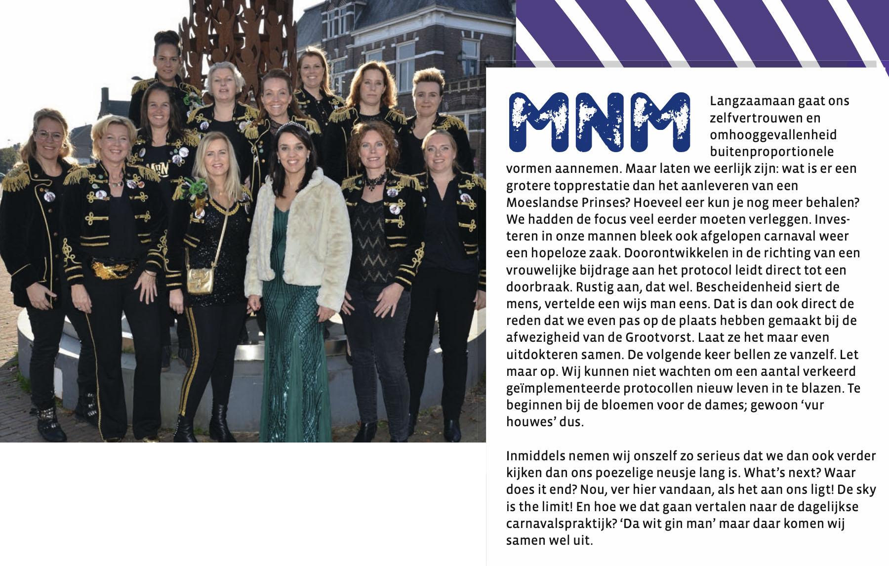 Carnavalskrant 't Moes Nie Moete - 2020