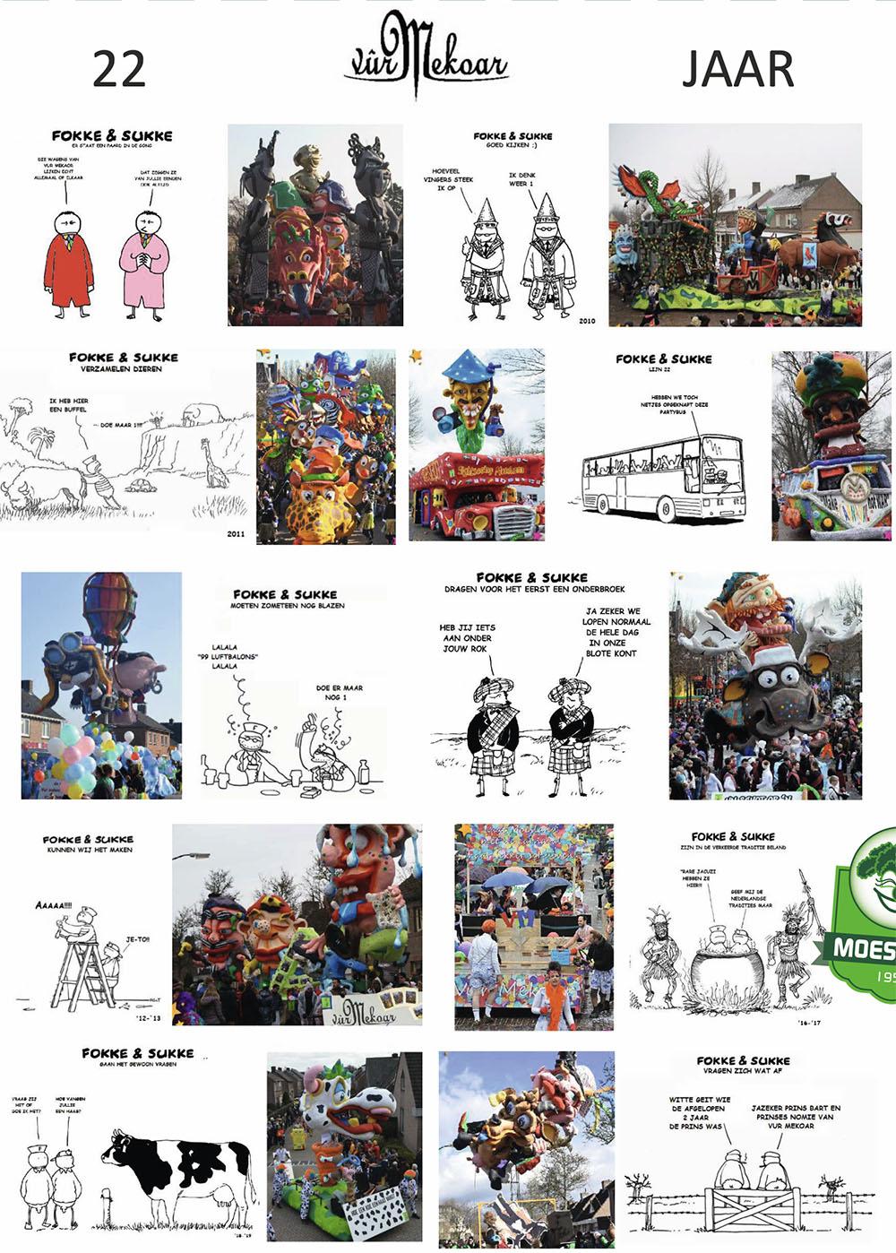 Stukje uit de carnavalskrant van Vur Mekoar - 2020
