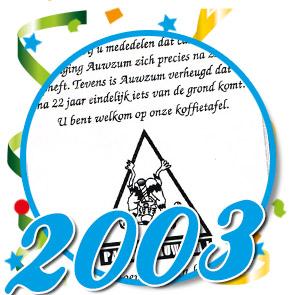 Documenten 2003