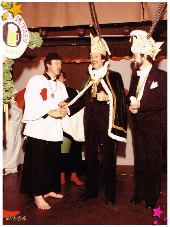 Pronkzitting Bierviltjes - 1982