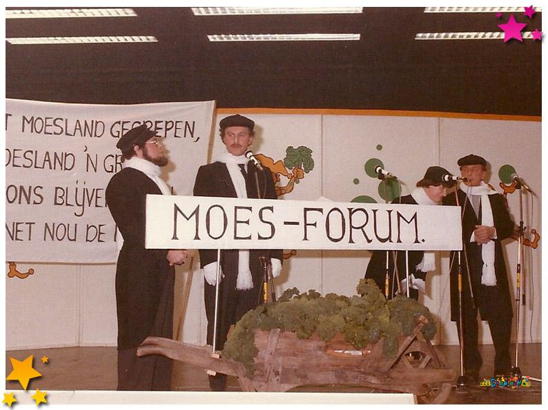 Pronkzitting Bierviltjes - 1985