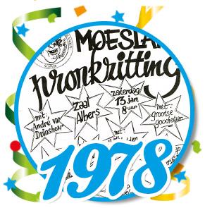 Pronkzitting Schaijk - 1978