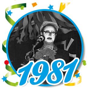 Pronkzitting Schaijk - 1981