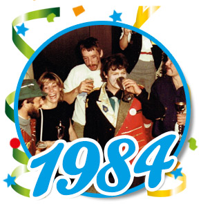 Pronkzitting Schaijk - 1984