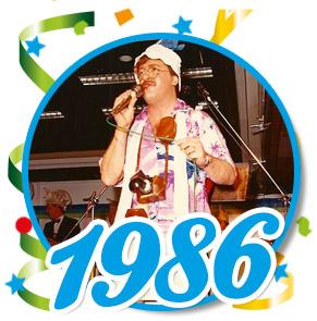 Pronkzitting Schaijk - 1986