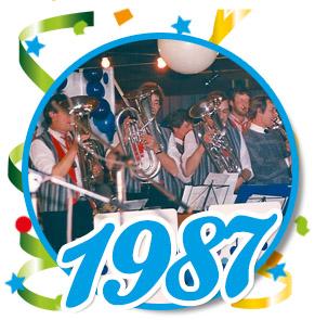 Pronkzitting Schaijk - 1987