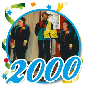 Pronkzitting Schaijk - 2000