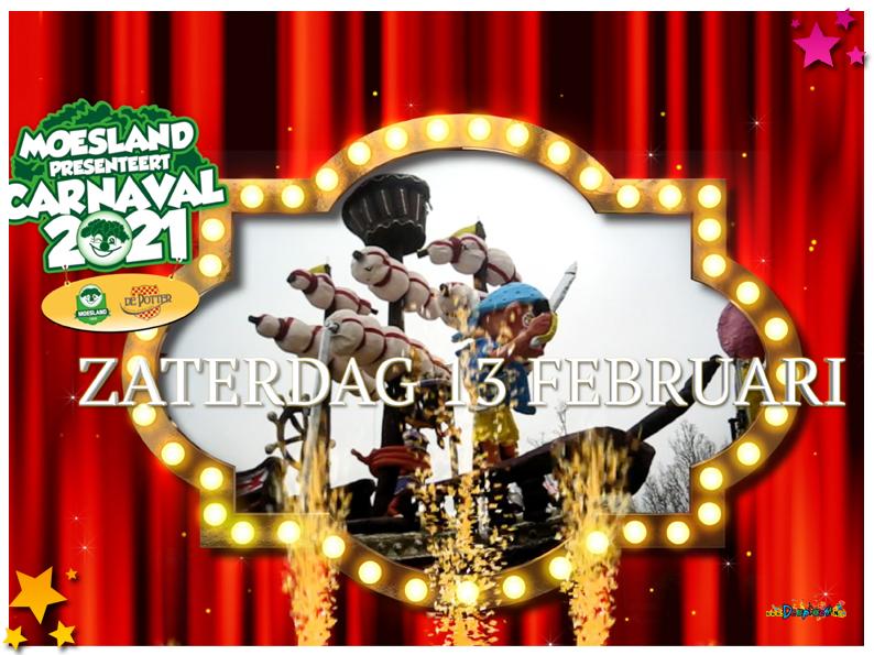 Moesland's carnaval 2021 kan van start gaan