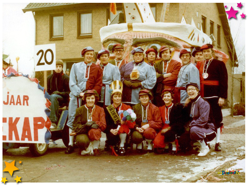 Moeskoningin Schaijk - 1978