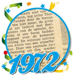 Uitslag optocht 1972 Schaijk
