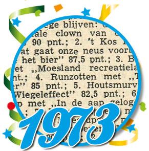 Uitslag optocht 1973 Schaijk