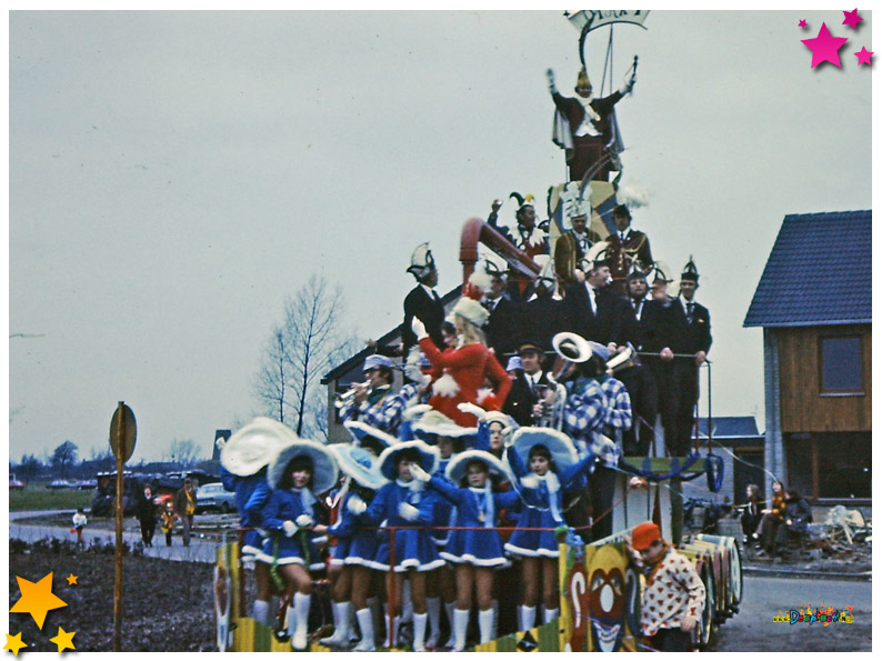 1973 Carnavalsoptocht Schaijk